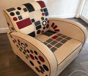 מדבקה לתיקון קרע בסלון